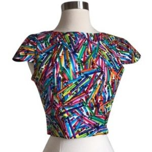 Tops - High Fashion Crayon Top